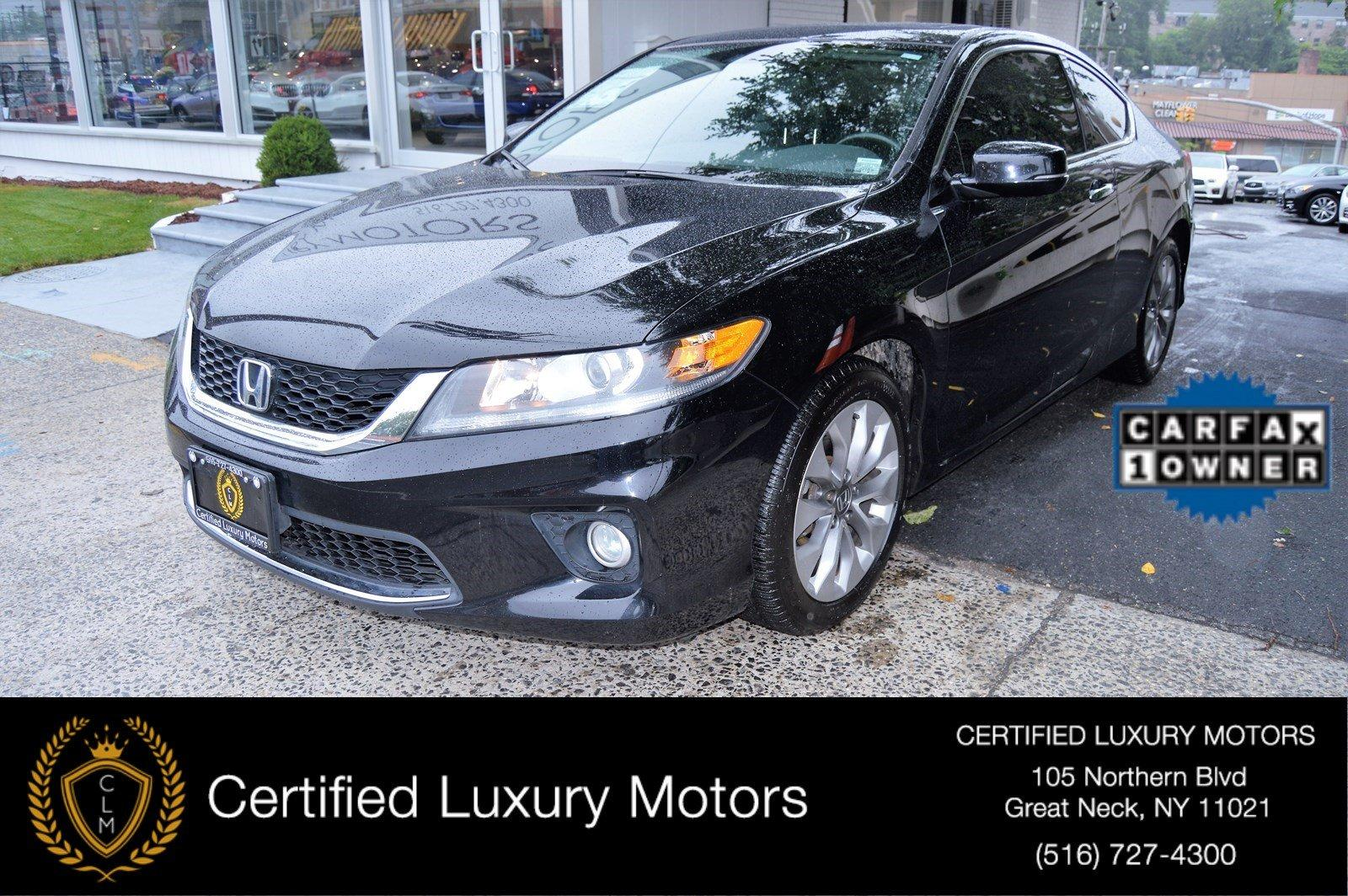 Used 2014 Honda Accord Coupe EX L V6