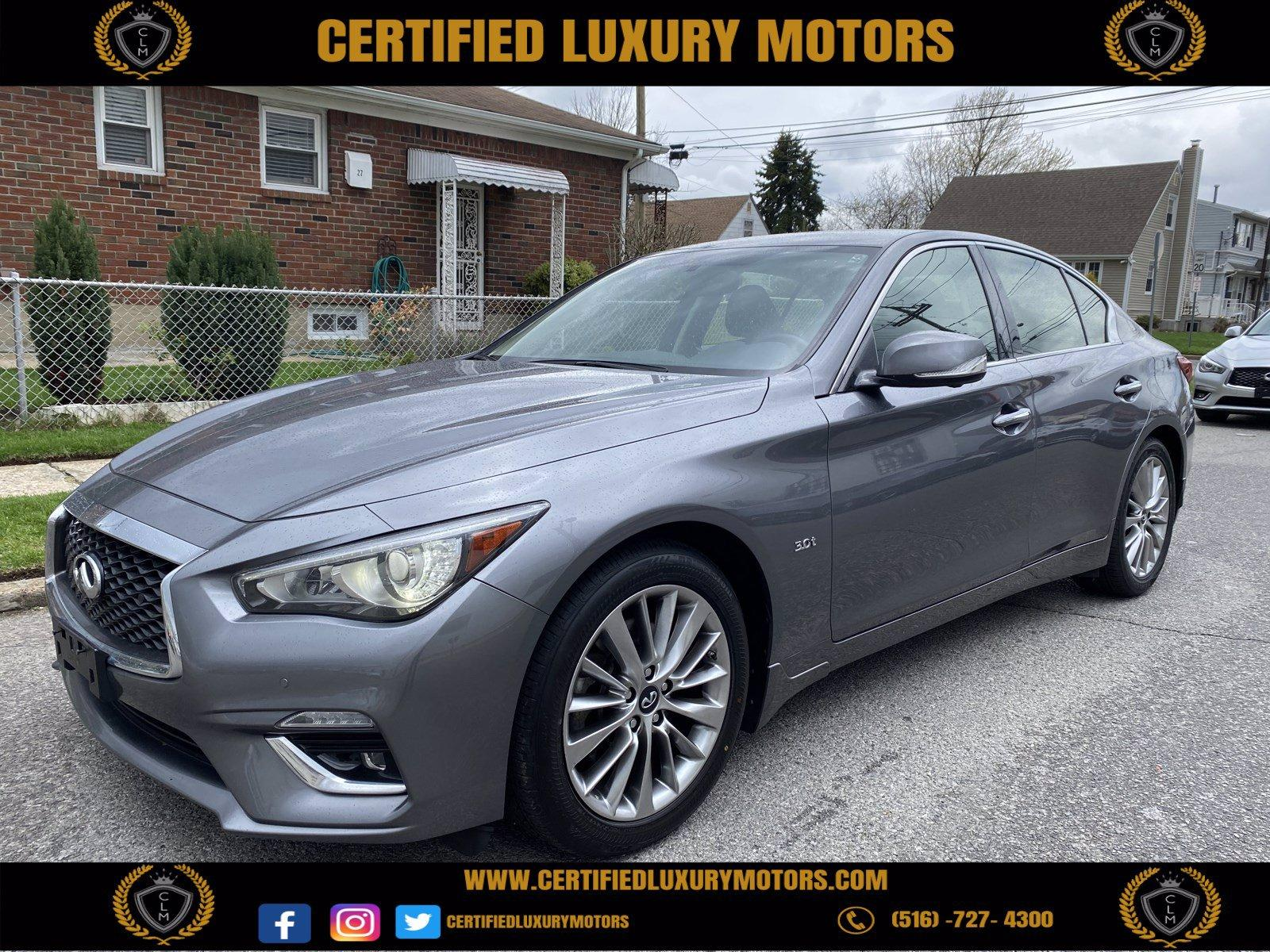 Used 2018 INFINITI Q50 3.0t LUXE | Great Neck, NY