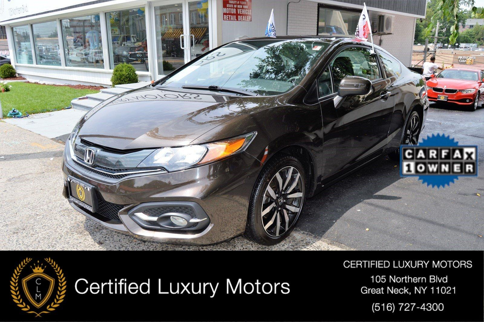 2014 honda civic coupe ex l stock 4973 for sale near for Honda northern blvd
