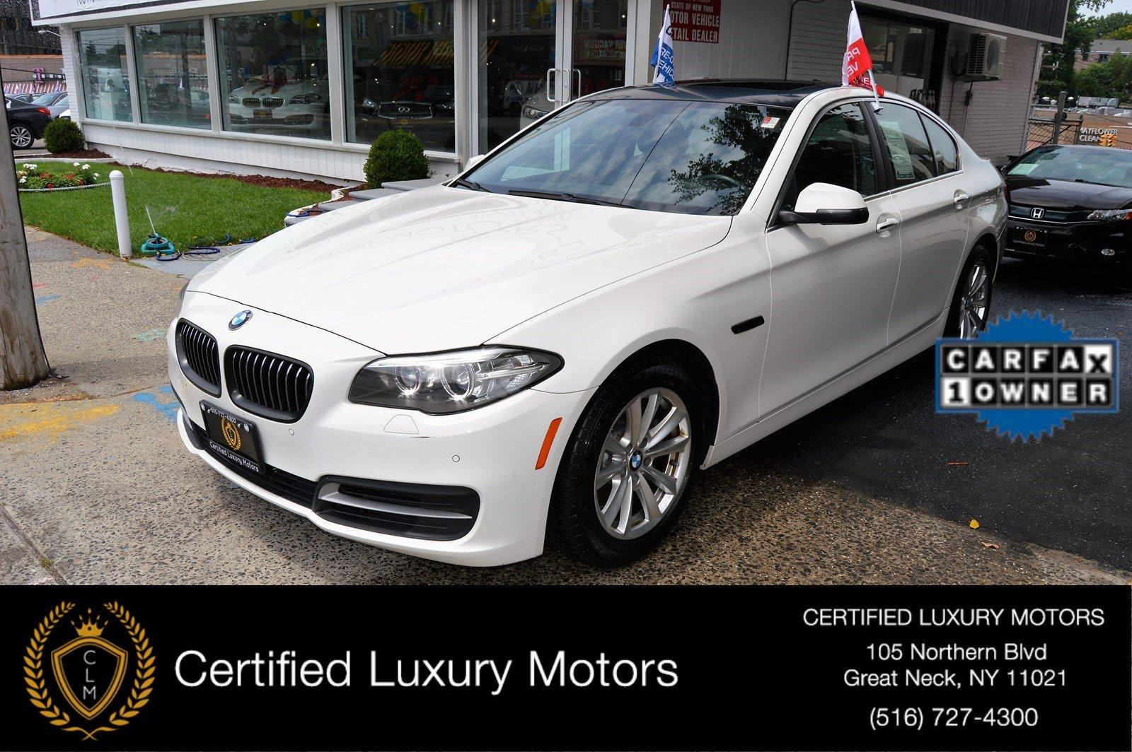 2014 bmw 5 series 528i xdrive stock 8773 for sale near for Certified luxury motors great neck ny