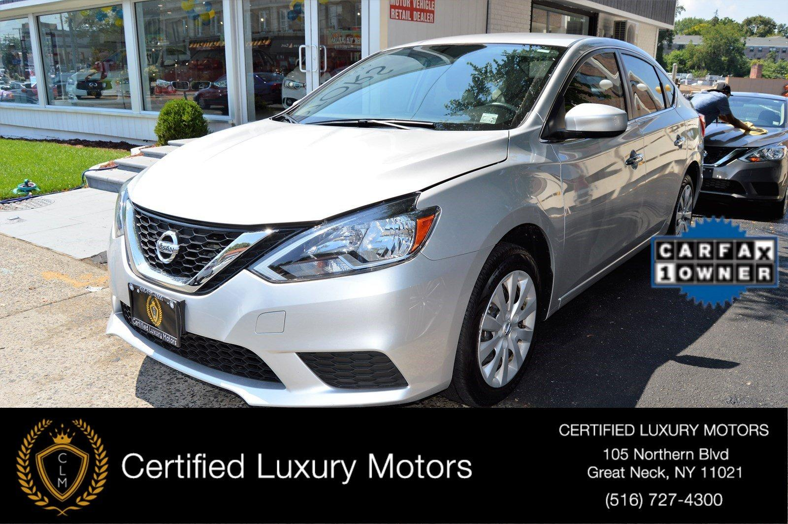 2016 nissan sentra sv stock 3713 for sale near great. Black Bedroom Furniture Sets. Home Design Ideas