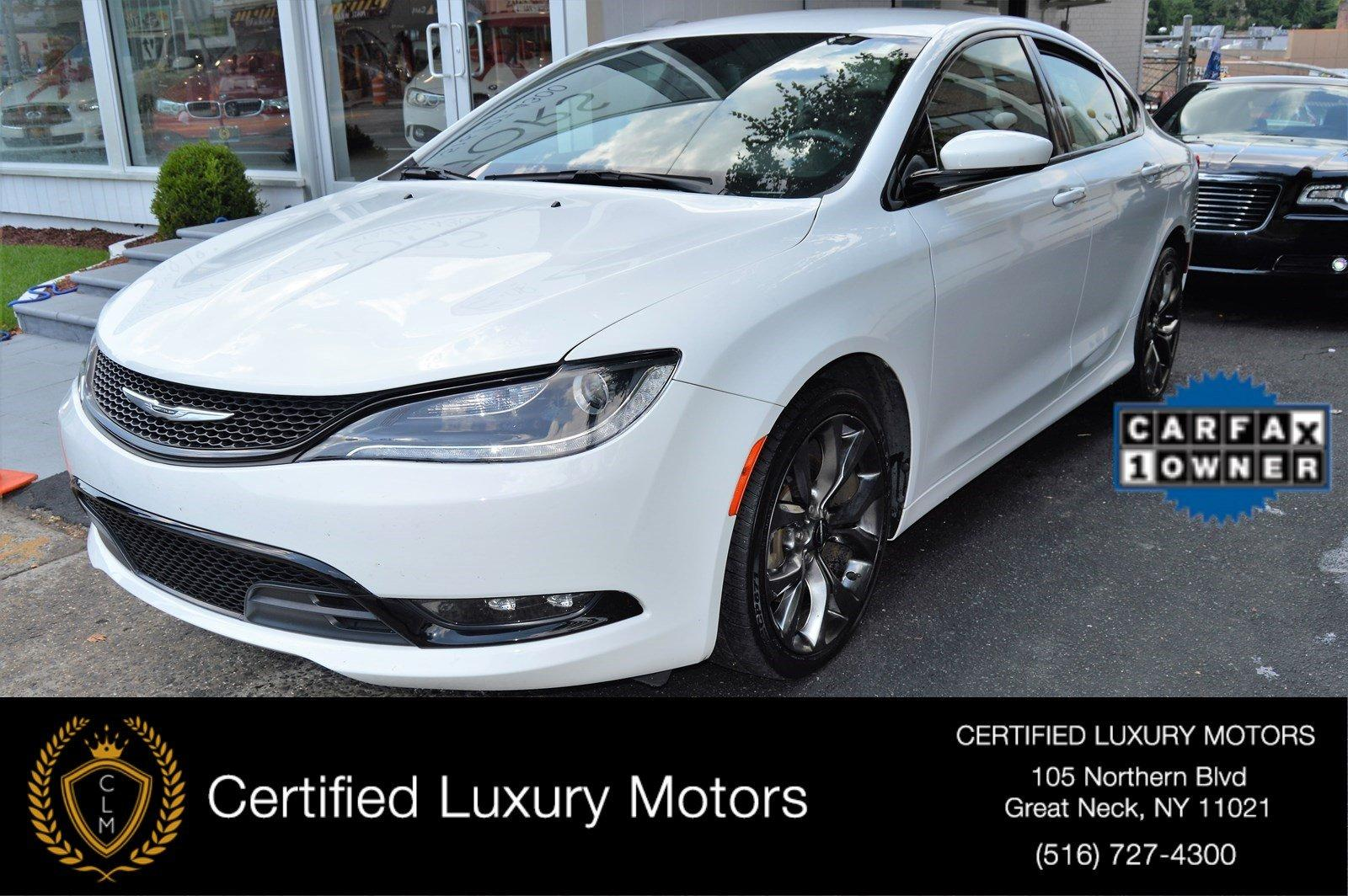 2015 chrysler 200 s awd stock 3332 for sale near great. Black Bedroom Furniture Sets. Home Design Ideas