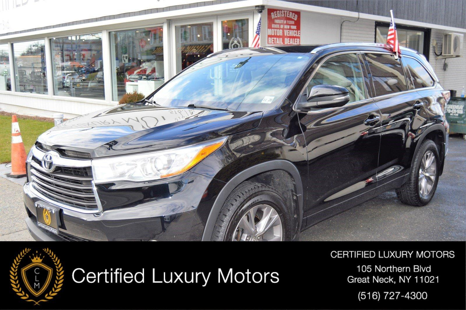 Used 2015 Toyota Highlander XLE | Great Neck, NY