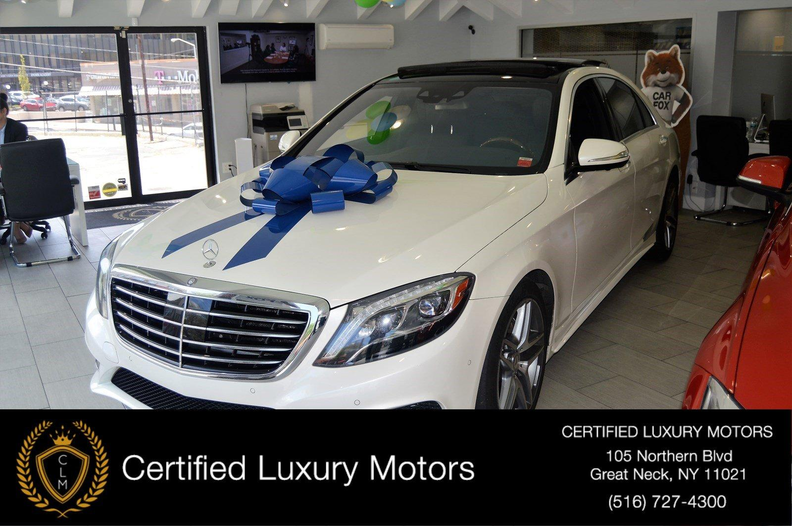 Used 2015 Mercedes-Benz S-Class S 550 AMG Pkg | Great Neck, NY