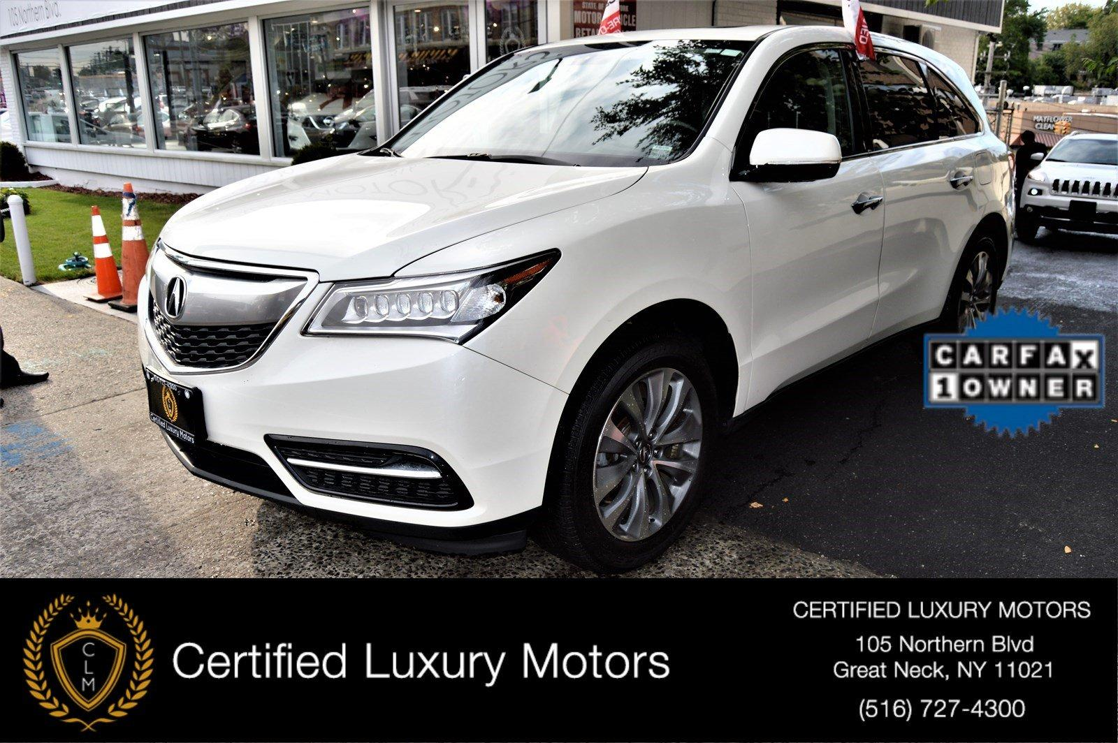 2015 acura mdx tech pkg stock 6068 for sale near great neck ny ny acura dealer. Black Bedroom Furniture Sets. Home Design Ideas