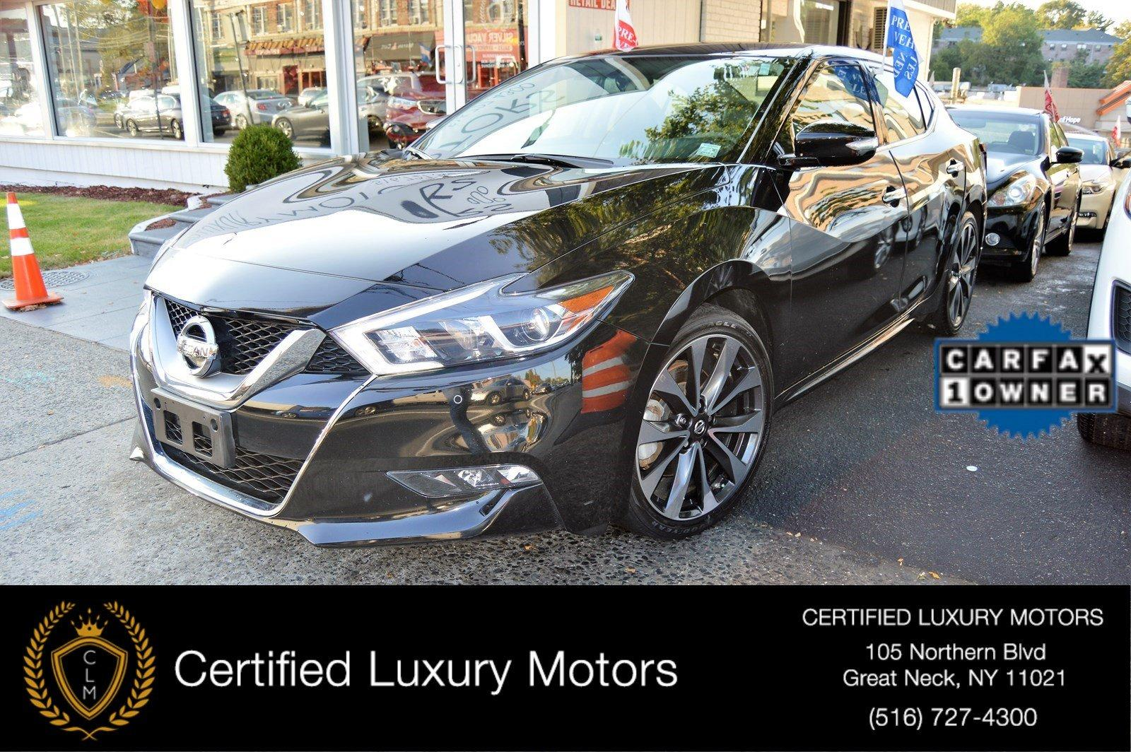 2016 nissan maxima 3 5 sr stock 1599 for sale near great for Certified luxury motors great neck ny