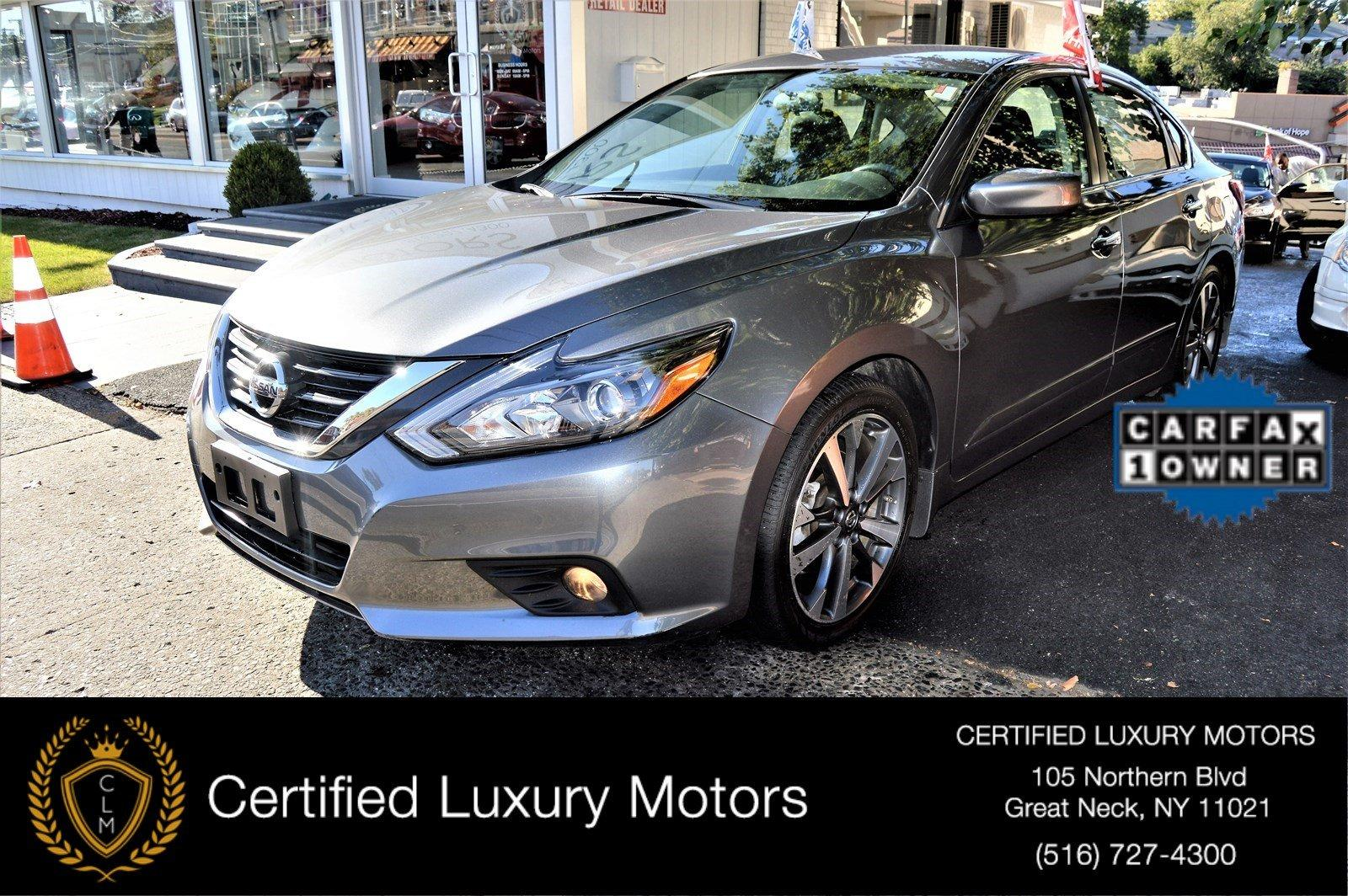 2016 nissan altima 2 5 sr stock 5521 for sale near great for Certified luxury motors great neck ny