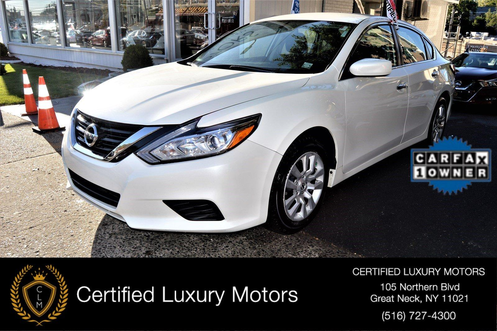 2016 nissan altima 2 5 s stock 5078 for sale near great for Certified luxury motors great neck ny