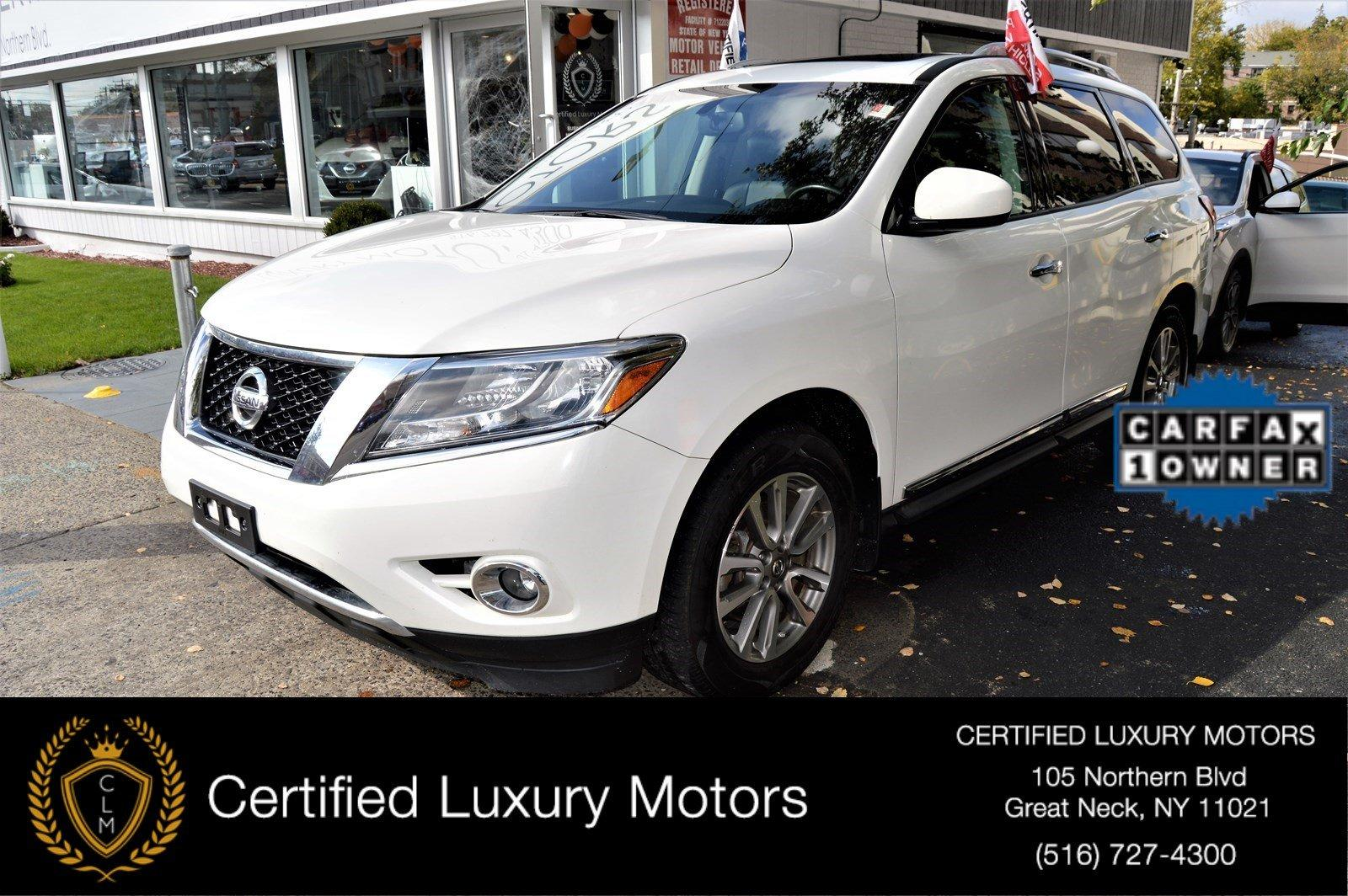 Used 2014 Nissan Pathfinder SL W/ Entertainment Pkg