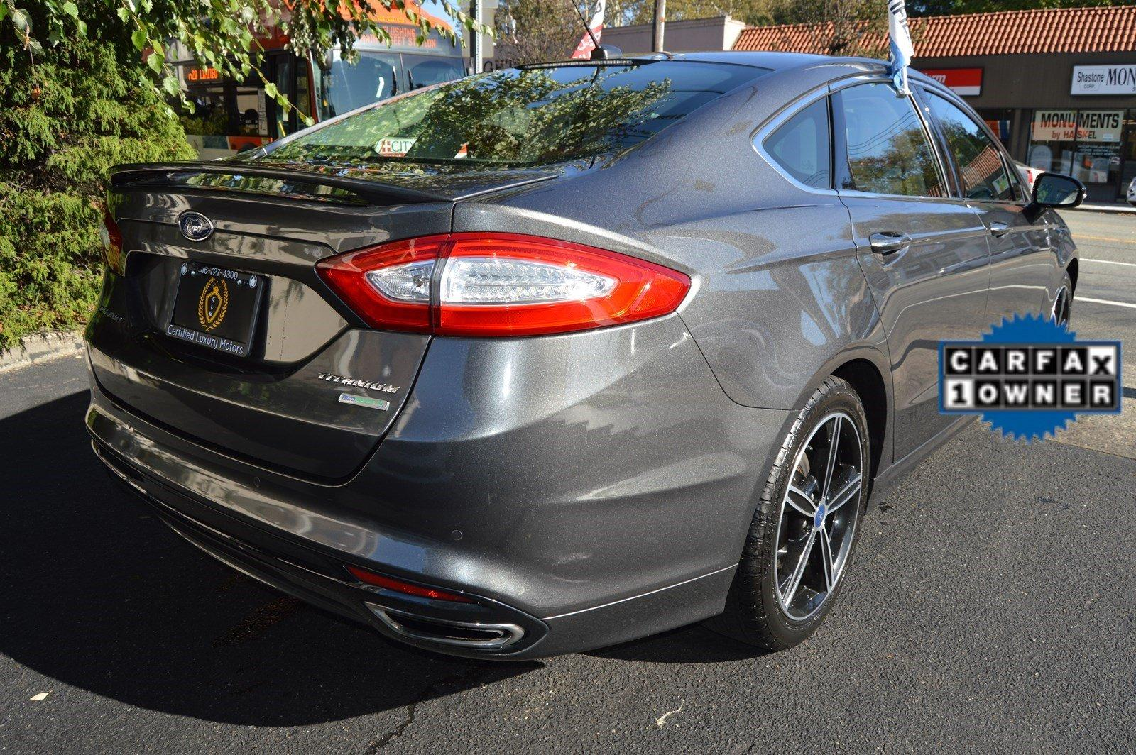 Used 2015 Ford Fusion Titanium Limited Edition (RED