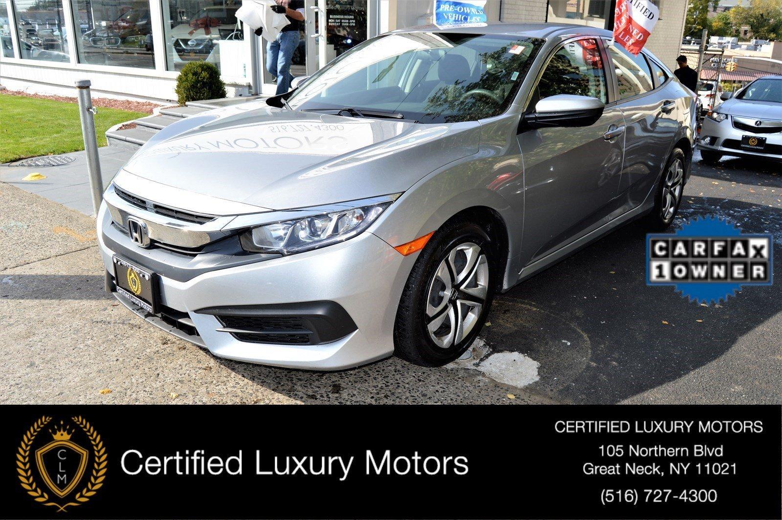 2016 honda civic sedan lx stock 0362 for sale near great for Honda northern blvd