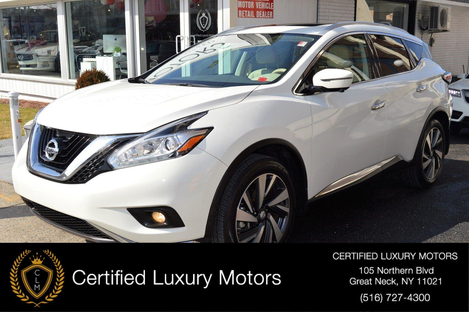 Used 2015 Nissan Murano Platinum | Great Neck, NY