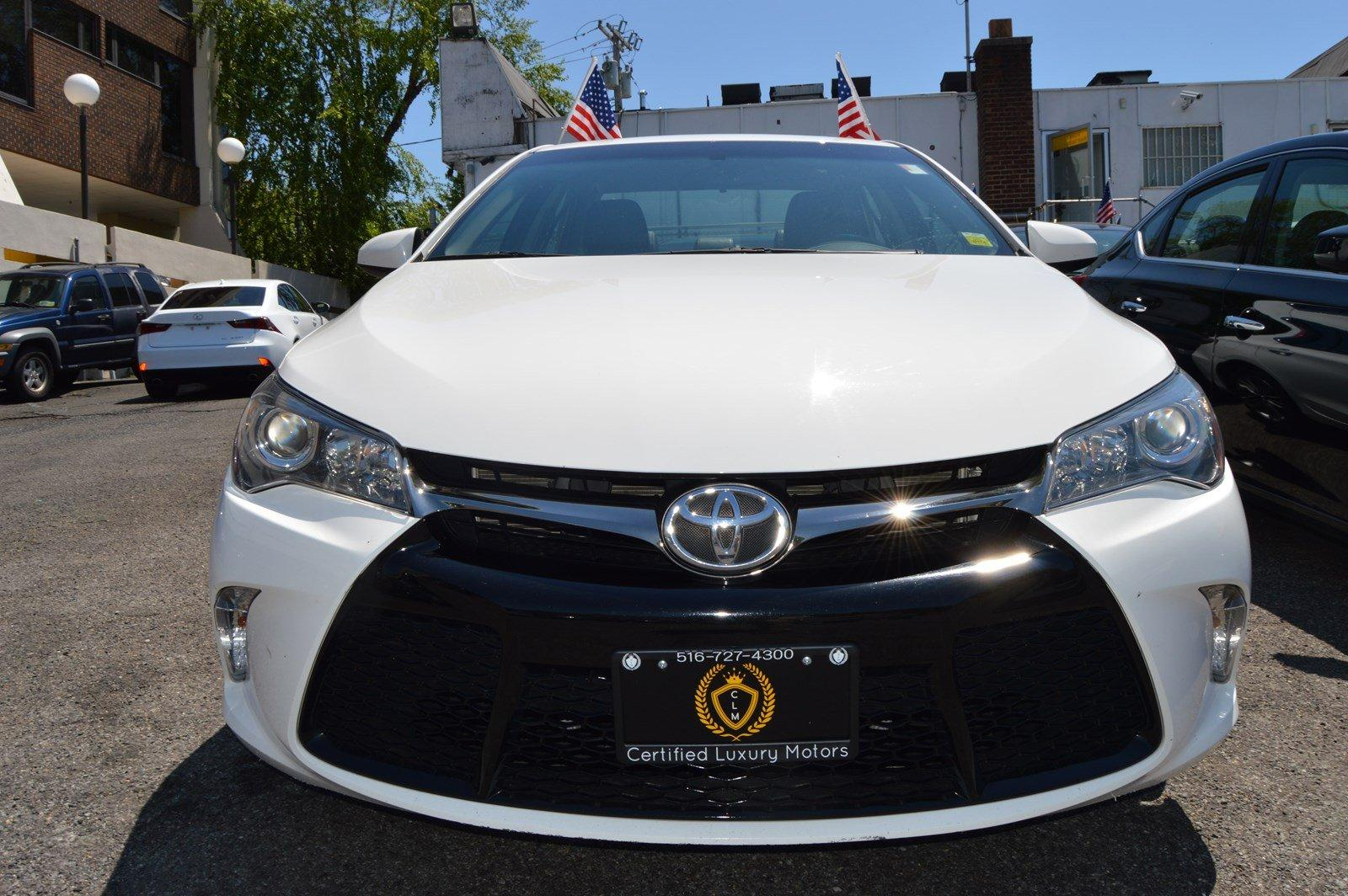 2016 toyota camry se stock 2490 for sale near great neck for Certified luxury motors great neck ny