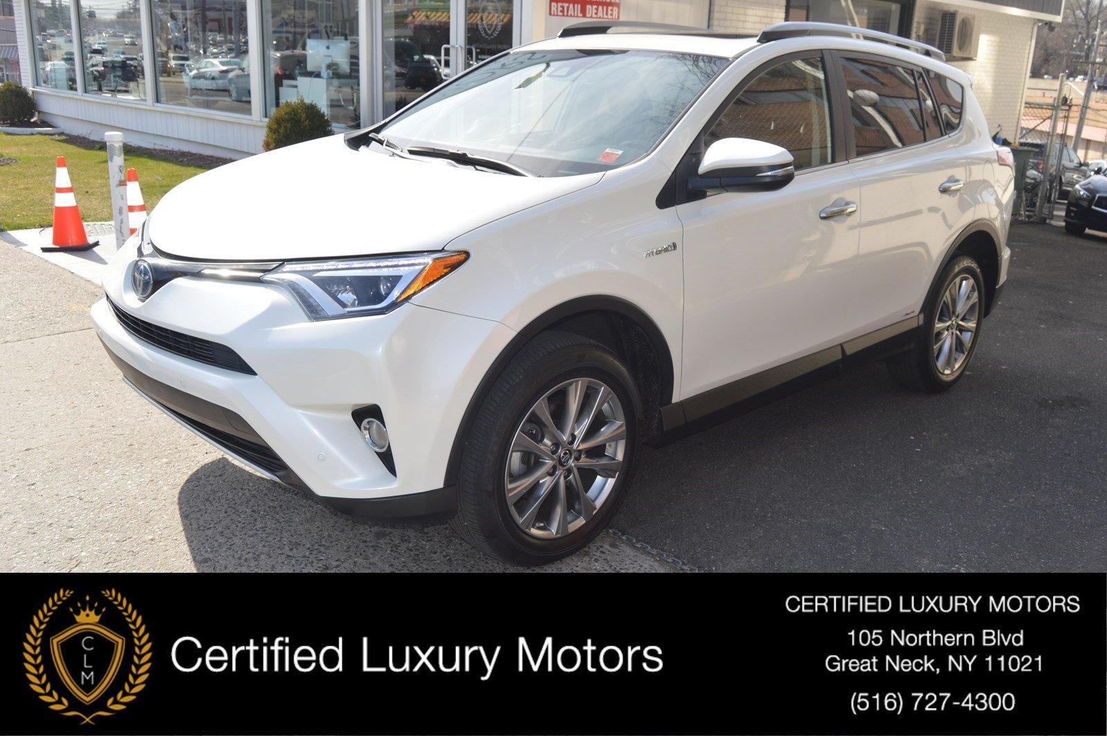 Used 2017 Toyota RAV4 Hybrid Limited | Great Neck, NY