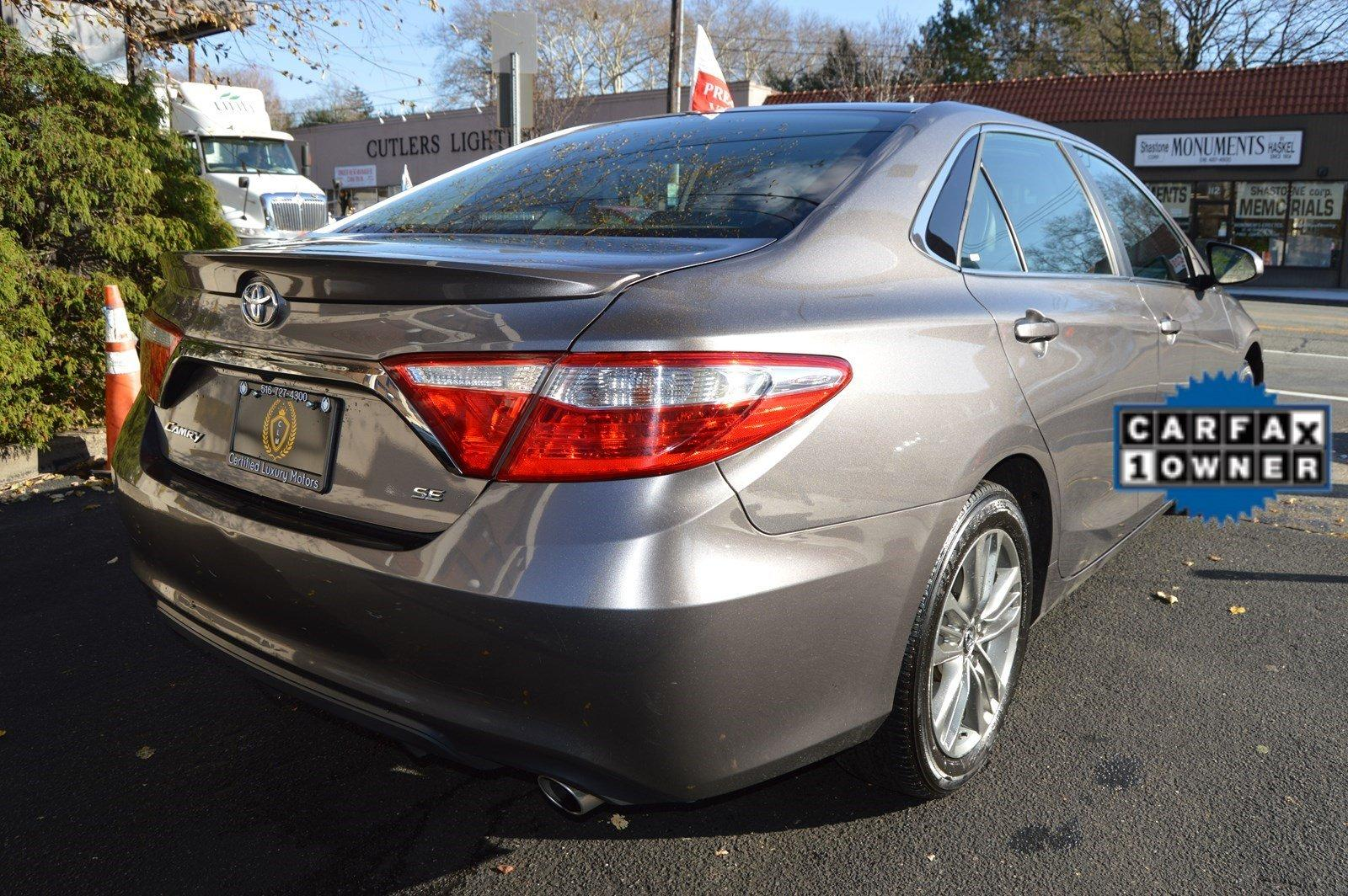 2016 toyota camry se stock 1191 for sale near great neck ny ny toyota dealer. Black Bedroom Furniture Sets. Home Design Ideas