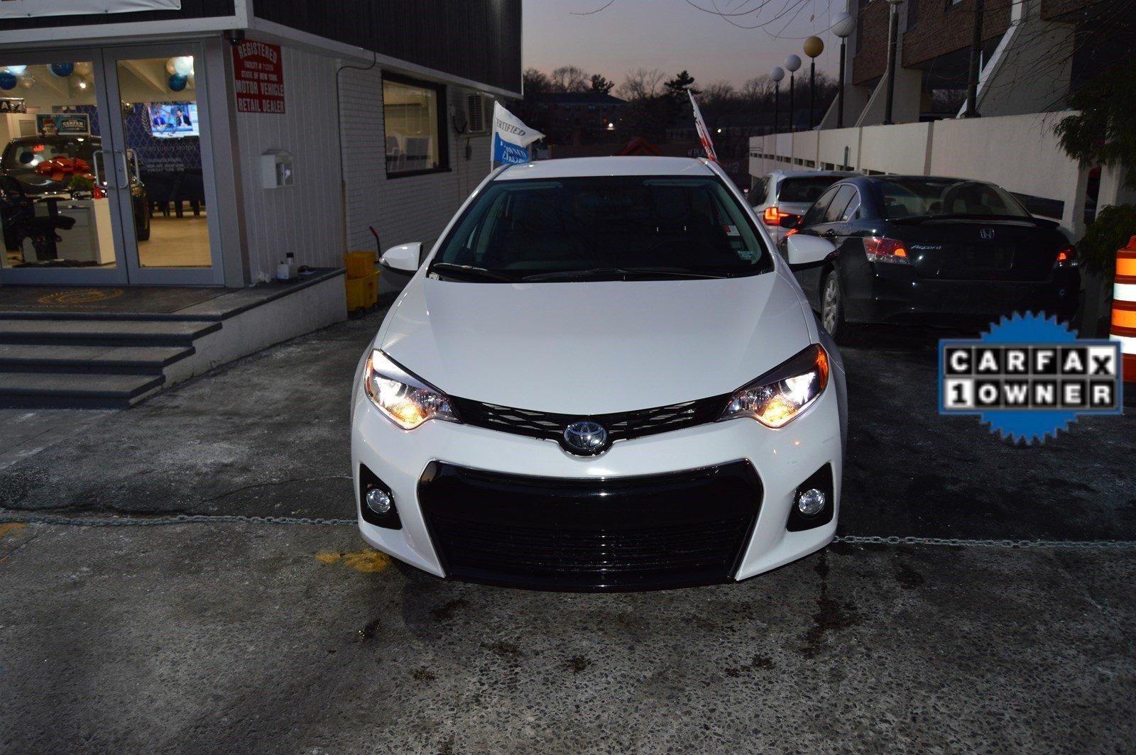 2016 toyota corolla s plus stock 3098 for sale near for Certified luxury motors great neck ny