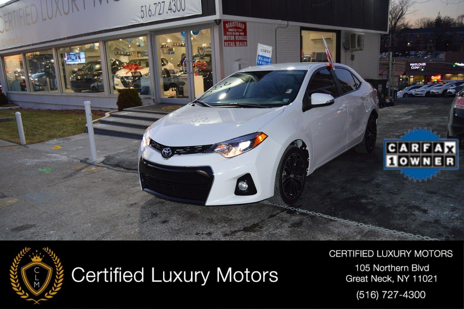 2016 Toyota Corolla S Plus Stock 3098 For Sale Near