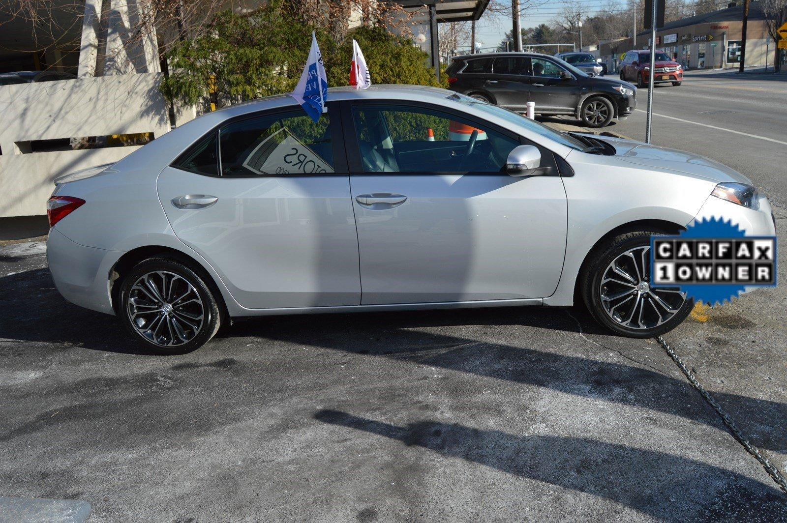 2015 toyota corolla s stock 2084 for sale near great neck ny ny toyota dealer. Black Bedroom Furniture Sets. Home Design Ideas