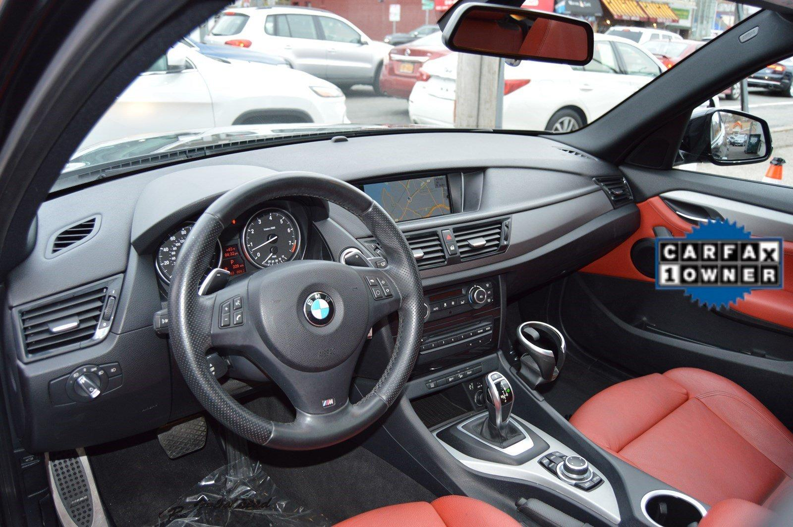2014 Bmw X1 Xdrive28i Red Interior Stock 2787 For Sale Near Great Neck Ny Ny Bmw Dealer