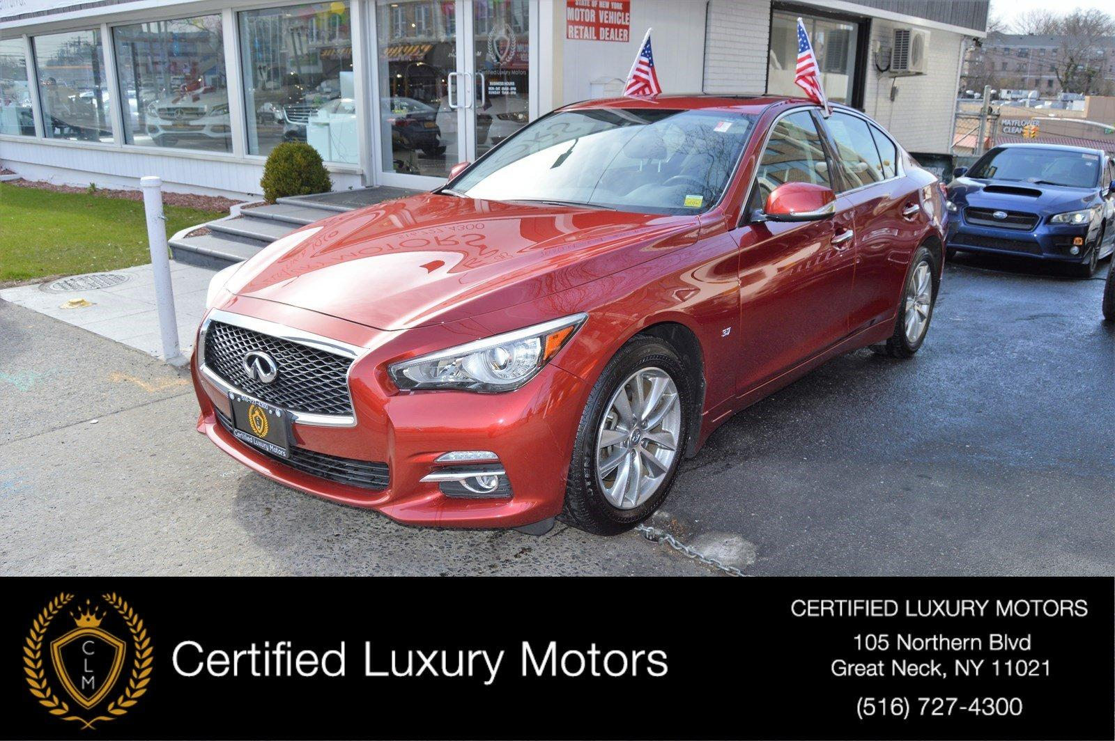 Used 2014 INFINITI Q50 Premium | Great Neck, NY