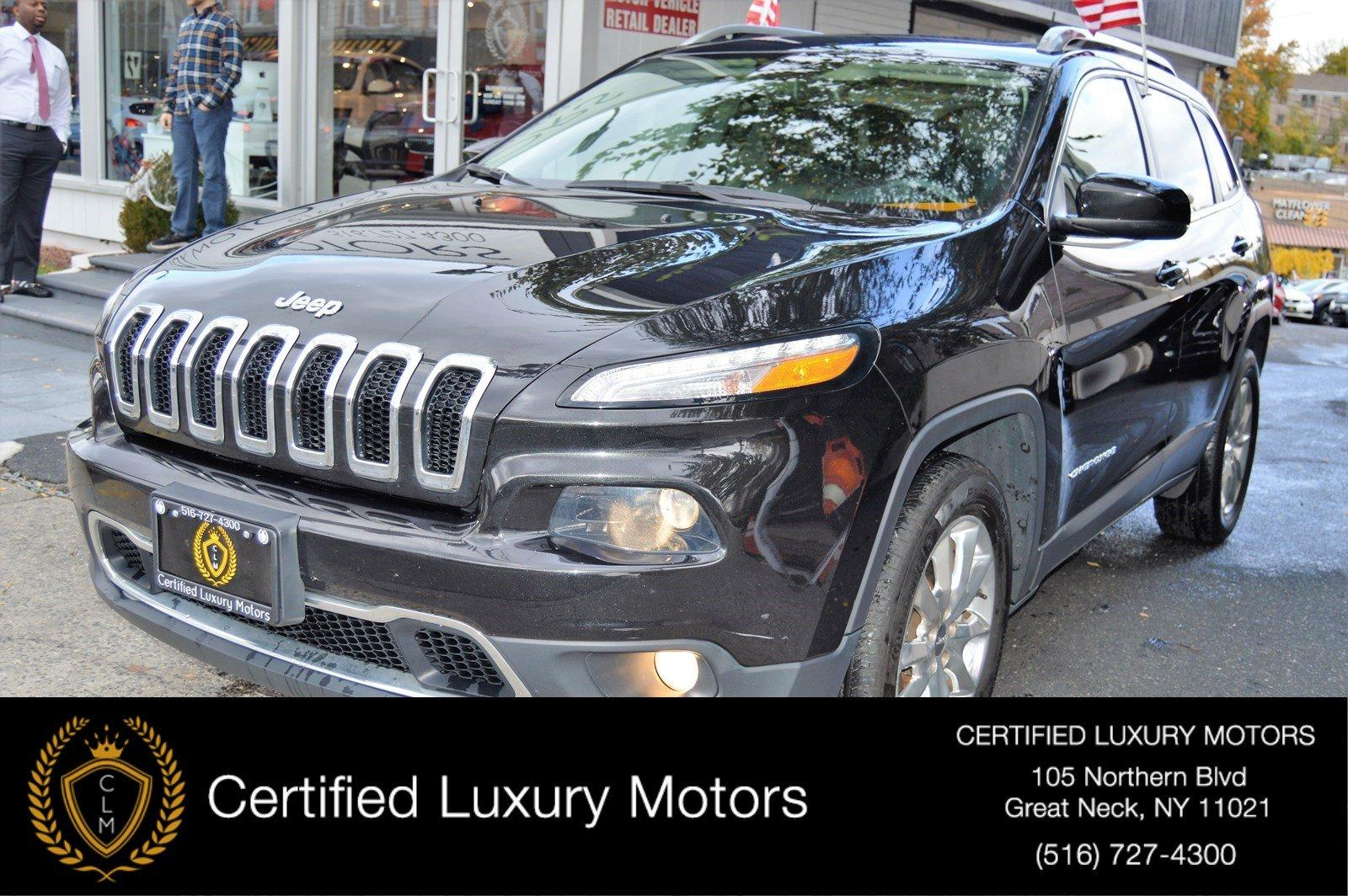 Used 2016 Jeep Cherokee Limited | Great Neck, NY